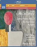 プロコフィエフ:交響曲第3番/スキタイ組曲 他 [Blu-ray Audio]