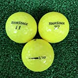ABランク ツアーステージ V10 2012年 スーパーイエロー 20球 ロストボール 【ECOボール】