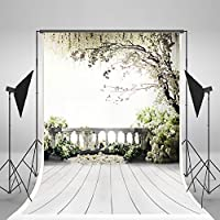 Kate 10x15ft Wedding Backdrops White Flowers Background Floral Backdrop Natural Scenery for Photographers Photo Studio Backdrop? [並行輸入品]