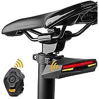 マウンテンバイクライトテールライトコンビネーションスマートワイヤレスリモコンターンシグナルナイトライディング機器自転車アクセサリー警告灯