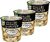 クノール スープDELI ポルチーニ香るきのこのクリームスープパスタ 40.7g×3個