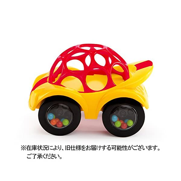 Oball オーボール ラトル&ロール レッド...の紹介画像2