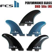 【FCS2 フィン】 DHD Performance Glass ダレンハンドレー TRI-QUAD 5fin トライクアッド MEDIUM