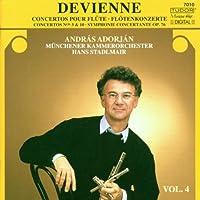 Devienne: Flute Concertos Vol4