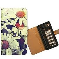 プルームテック ケース PloomTECH 手帳型 フラワー B000803_04 花 クロッカス 花畑 フラワー 白