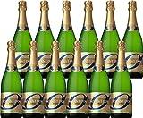 モマンドール ブリュット 750ml×12本 [スペイン/スパークリングワイン/辛口/ミディアムボディ/12本]