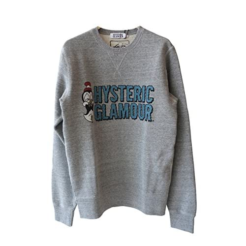 (ヒステリックグラマー)HYSTERIC GLAMOUR CW/CHILLY WILLY pt SW (L, GRY)