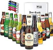 世界のビール[12ヵ國12本]飲み比べ ギフトセット【全品正規輸入品】【Amazon購入限定 アルミ製オリジナル栓抜きプレゼント】お祝 お返し 誕生日プレゼントに 専用ギフトボックスでお屆け