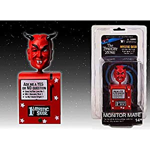 Twilight Zone Mystic Seer Monitor Mate Bobble Head - Red / トワイライトゾーン モニターメイト 【並行輸入】