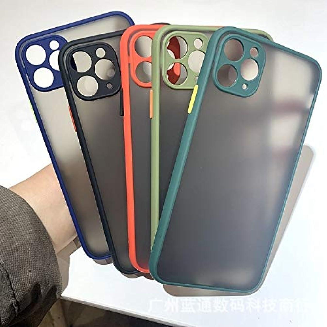 俳句パッチ読み書きのできないA IPhone11 6.1皮膚検知の携帯電話ケースiPhoneXR細孔保護スリーブ7G場合に適して B (Color : Deep red, Size : IPhone6/6S)