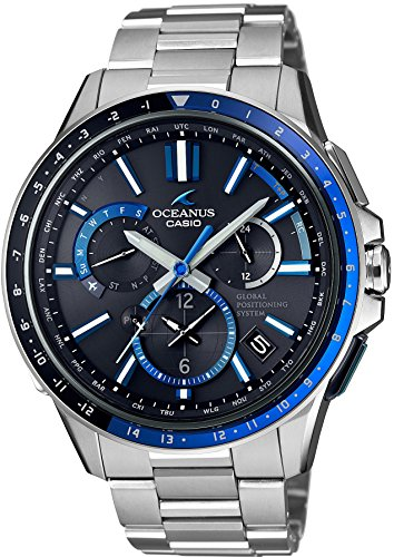 カシオ オシアナス CASIO OCEANUS GPSハイブリッド電波ソーラ OCW-G1100-1AJF