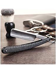 SZ1066 ストレートカミソリ、理髪師カミソリ、プロフェッショナルストレートカミソリシェービングキット、男性用シェービング用ハンドメイド