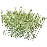 プラスチック竹木モデルTrain景色風景scale1 : 75100個/グリーン