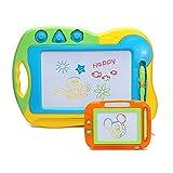 Wishtime お絵かき おもちゃ 2枚セット お絵描きセット 幼児 カラフル マグネットボード 知育玩具(色指定不可)
