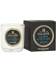 Voluspa ボルスパ メゾンノワール ミニグラスキャンドル ライケン&ベチバー MAISON NOIR Mini Glass Candle LICHEN & VETIVER