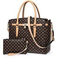 Waterproof Leather Handbags Set for Women Fashion Purse Shouler Totes Bags ¡­