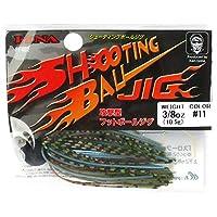 ハヤブサ FINA SHOOTING BALL JIG FF402 3/8oz 11 ブルーギル
