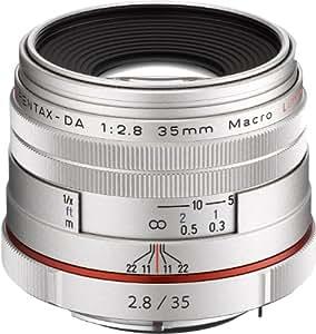 PENTAX リミテッドレンズ 標準単焦点マクロレンズ HD PENTAX-DA35mmF2.8 Macro Limited シルバー Kマウント APS-Cサイズ 21460