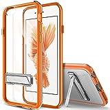 iPhone6s / iPhone6 ケース OBLIQ Naked Shield ポリカーボネイト + TPU バンパー キックスタンド搭載 ハードケース for Apple iPhone 6s / iPhone 6 4.7 インチ オレンジ 【国内正規品】