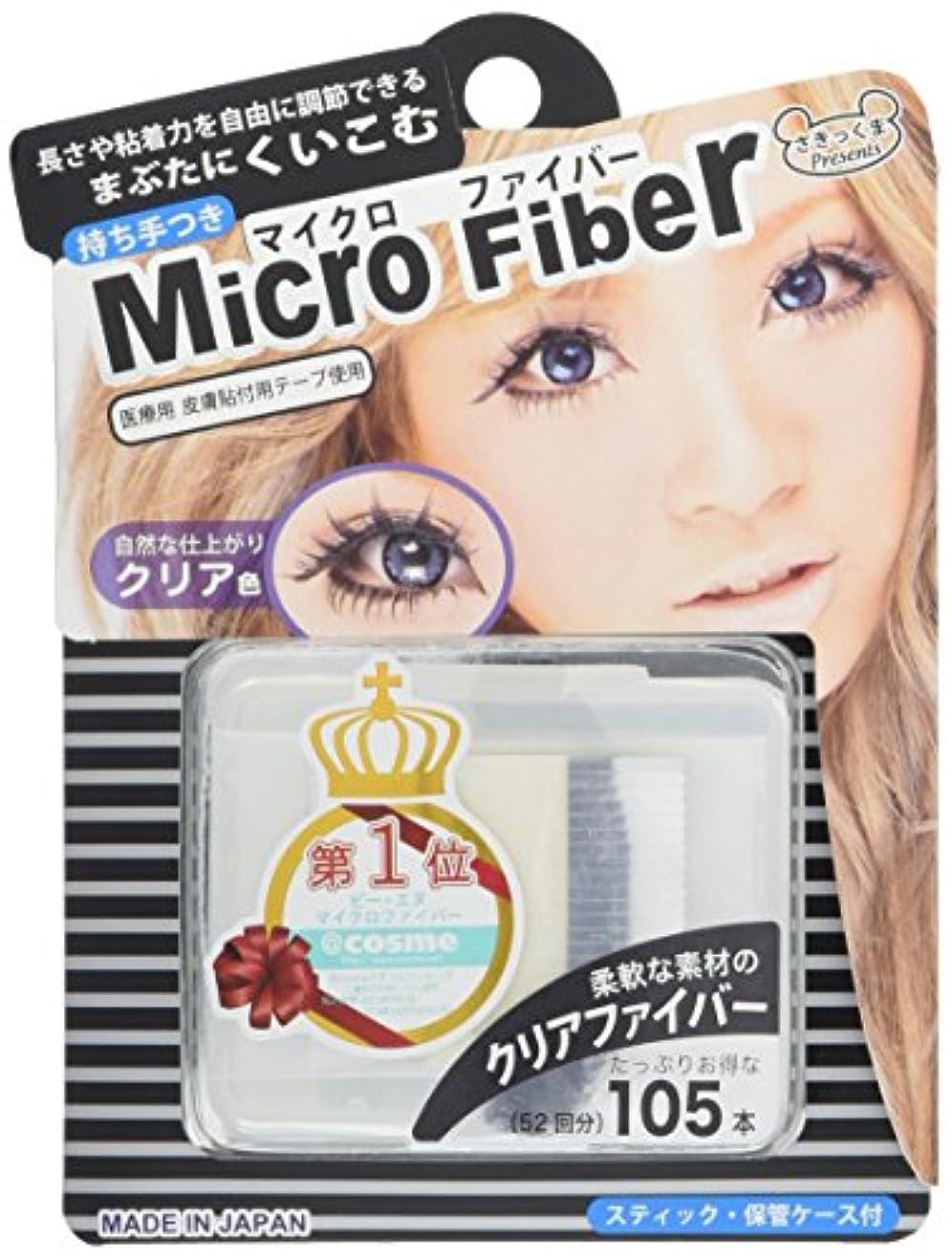 端末踏みつけヒープBN マイクロファイバー クリア MCF-1