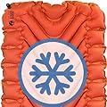 (Orange) - Klymit Insulated Static V Sleeping Pad