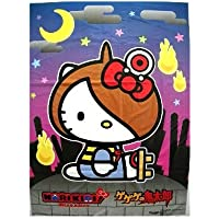 綿菓子袋 なりきりキティ【ゲゲゲの鬼太郎】(100入)  / お楽しみグッズ(紙風船)付きセット
