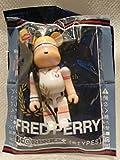 フレッドペリー FRED PERRY BE@RBRICK キューブリック フレッドペリー ホワイト