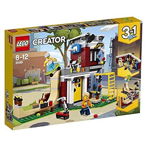 レゴ(LEGO) クリエイター スケボーハウス (モジュール式) 31081
