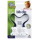 Baby Buddy(ベビーバディ) Baby Buddy ベビー バディ Bib Clip ホワイトベア マルチ クリップ(ダブル) 【アメリカ製】 Navy ネイビー