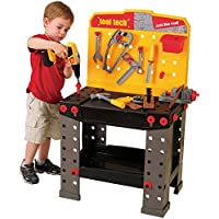 Constructive Playthings cpx-660 CP Toys Pretend PlayプラスチックツールTechワークベンチwithツール&アクセサリー/148 pc。セット