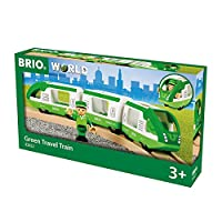 BRIO WORLD 緑のトラベルトレイン 33622