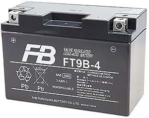 FURUKAWA [ 古河電池 ] シールド型 バイク用バッテリー [ 液入充電済 ] FT9B-4