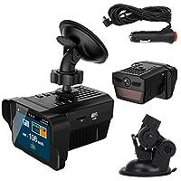 Sandistore Car Electronic Dog Radar Detector Rearview Mirror Vehicle Video Camera Recorder 141[並行輸入]