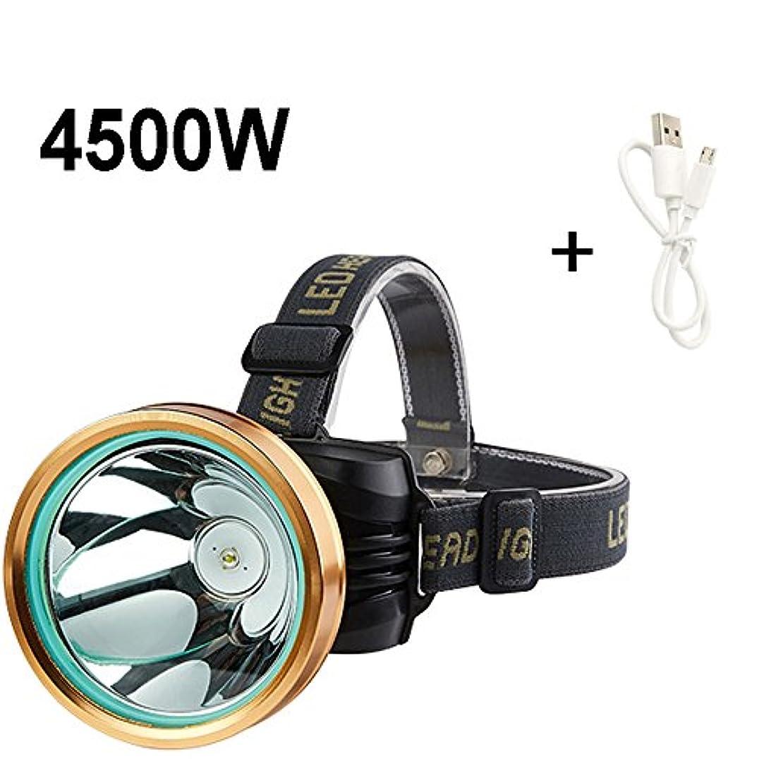 ルール多分代表LEDの調節可能なヘッドライトライト長距離3000メートルヘッドマウント懐中電灯超明るい夜の釣り釣りランプ