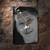 MICKEY ROONEY / ミッキー・ルーニー - キャンバスクロック(大A3 - アーティストによって署名されました) #js001