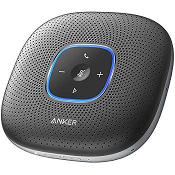 Anker PowerConf, スピーカーフォン 会議用 マイク Skype Zoom など対応 24時間連続使用 USB-C接続 オンライン会議 テレワーク 在宅 会議用システム ウェブ会議 テレビ会議 ビデオ会議