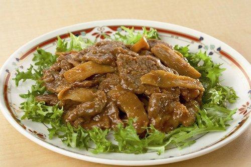 オイスターソースが決め手!! 菰田欣也の牛肉と筍のオイスターソース炒め150g
