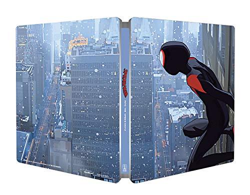 スパイダーマン: スパイダーバース ブルーレイ スチールブック仕様 [Blu-ray リージョンフリー ※日本語無し](輸入版) -Spider-Man: Into the Spider-Verse -