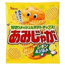 東ハト あみじゃが レモン&ソルト味 76g×12袋