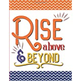 Rise Above and Beyond: Self-Care Planner, A Year in Color, Mood Meter, Affirmations, Self Goals, Daily Water Intake and Meals