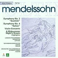 Mendelssohn;Syms.3&4/Violi
