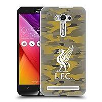 オフィシャル Liverpool Football Club ロイヤル・カラーウェイズ Liver Bird Camou ハードバックケース Zenfone 2 Laser ZE550KL
