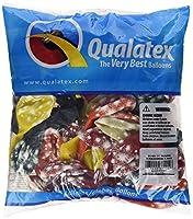 """Laバルーン37204"""" fireworks-a-round """" Qualatexラテックスバルーン( 50パック)、11、"""" Jewel"""