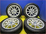 BMW 205/55R16 バリ山!! 中古スタッドレスタイヤホイール4本セット 送料無料(SA16-0893)