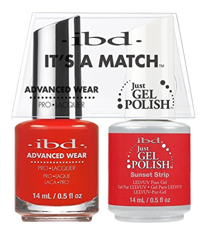 スティックインテリア多くの危険がある状況ibd - It's A Match -Duo Pack- Sunset Strip - 14 mL / 0.5 oz Each