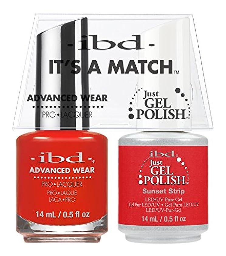 温室鼻鼻ibd - It's A Match -Duo Pack- Sunset Strip - 14 mL / 0.5 oz Each