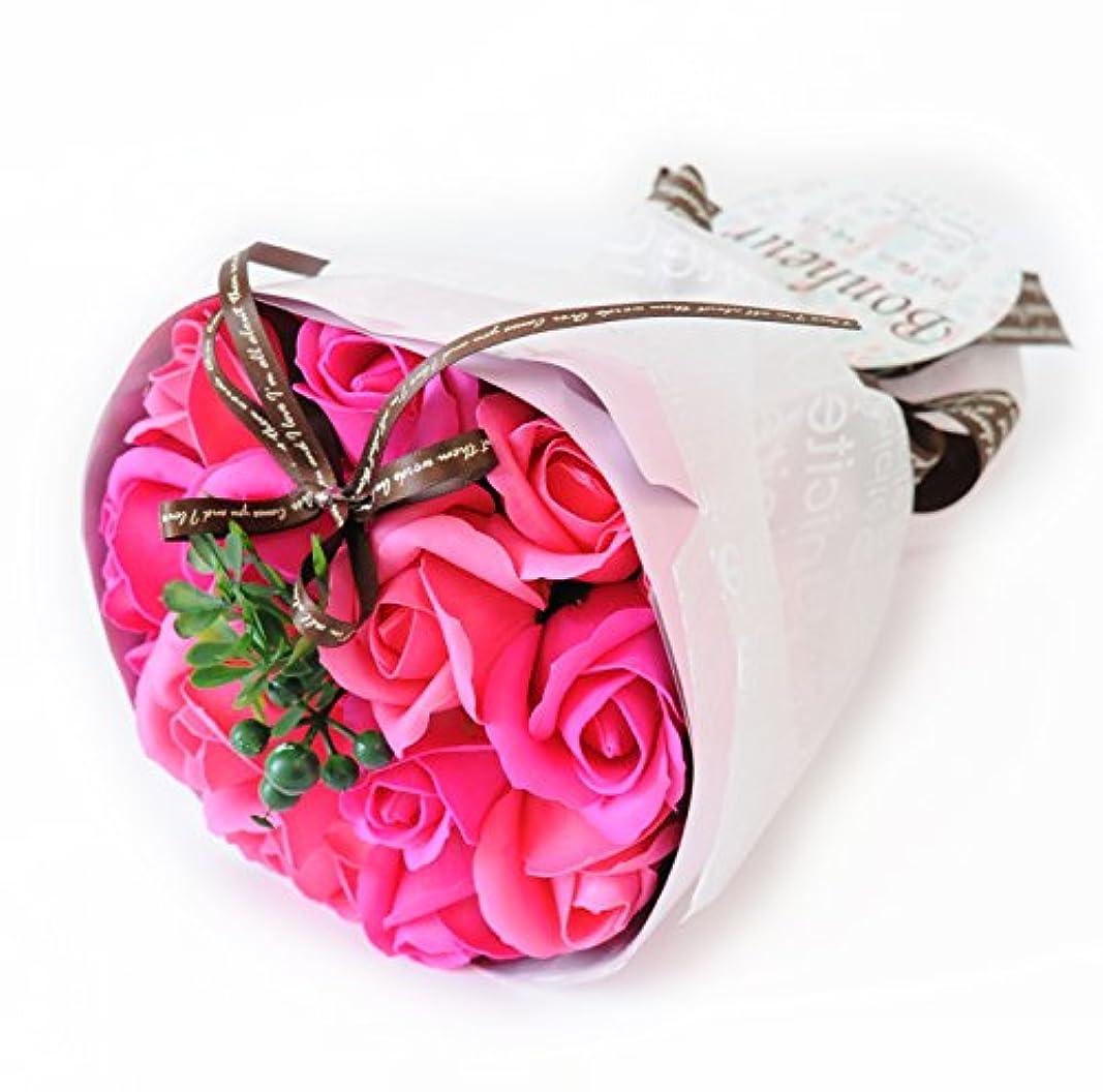 縮れた部分的に重量フラワーマーケット花由 ソープフラワー アロマローズブーケ ビューティー シャボンフラワー フラワーソープ