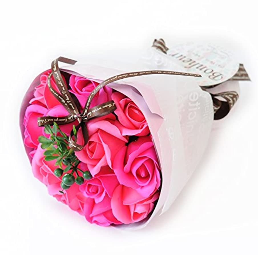 独裁者気球消化器フラワーマーケット花由 ソープフラワー アロマローズブーケ ビューティー シャボンフラワー フラワーソープ