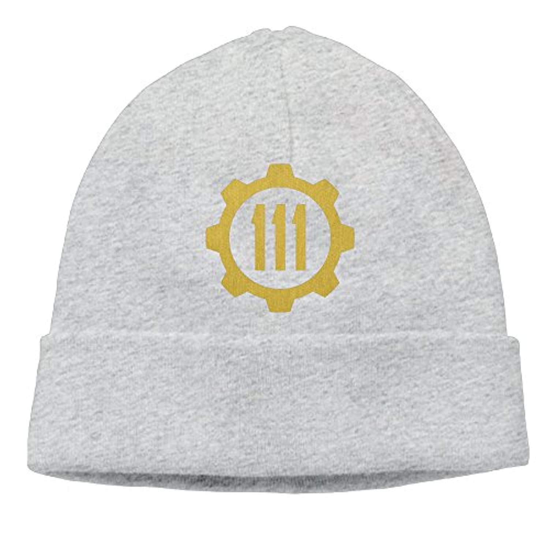 TAKAL 男女兼用 ツートン 大人気 ゴルフ フォールアウト4 ロゴ ニット帽 グレー