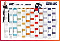 """Doctor Who–The 2015Whovian Time Lordカレンダー–Framed TV Showポスター/印刷( The 12th Dr。–Peter Capaldi ) ( Dr。Who(サイズ: 40"""" x 27"""" ) ( byポスター停止オンライン) Tesa Poster Strips P4006-Strip"""